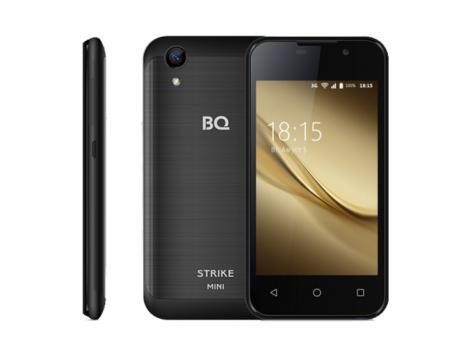 Смартфон BQ 4072 Strike Mini Black Brushed