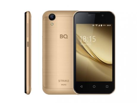 Смартфон BQ 4072 Strike Mini Gold Brushed