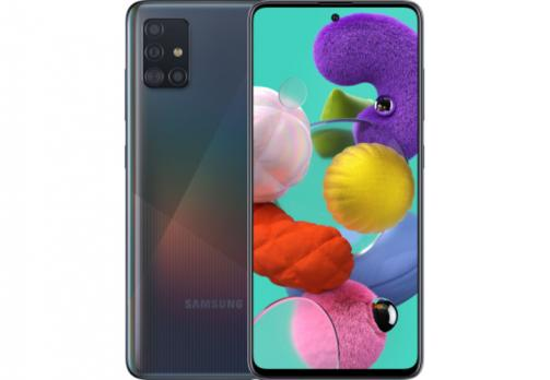 Телефон Samsung SM-A515FZ Galaxy A51 2020 4/64Gb Duos Black