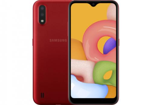 Телефон Samsung SM-A01FZ Galaxy A01 2020 2/16Gb Red