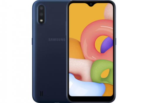 Телефон Samsung SM-A01FZ Galaxy A01 2020 2/16Gb Blue