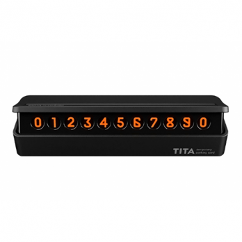 Парковочная карта Xiaomi BCASE TITA Mini Temporary Parking Card Black