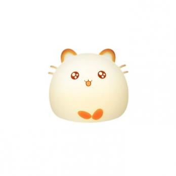 Ночник Fat Mouse Silicone Lamp WH-A20