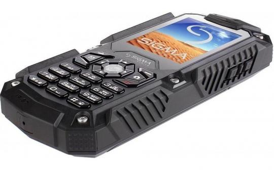 Телефон Sigma mobile X-treme IT67 Dual Sim orange/black