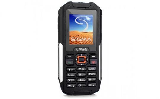 Телефон Sigma mobile X-treme IT68 Dual Sim black
