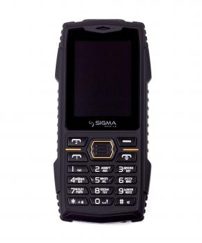 Телефон Sigma mobile X-treme AZ68 black